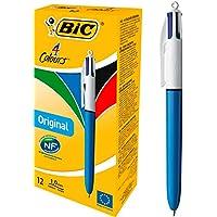 12-Count BIC Assorted Inks Ballpoint Pen