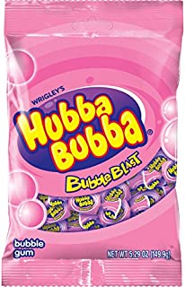 Hubba Bubba Bubble Blast Bubble Gum Bag, 5.29 ounce