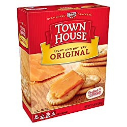 Keebler, Town House, Snack Crackers, Light and Buttery, Original, 13.8 oz Box