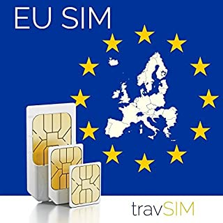 Western Europe (Incl France, Germany, Netherlands, UK) 3GB Mobile Internet Data SIM 42 Countries Instant Connection Valid for 30 Days