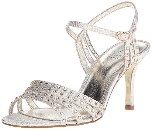 Adrianna Papell Women's Vonia Dress Sandal, Pearl, 9 UK/10 M US