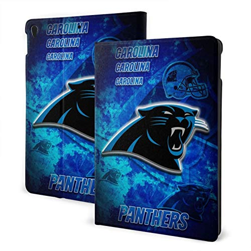Carolina Football Panther Slim Lightweight Smart Shell Stand Hard Back Protective Cover Case with Auto Wake/Sleep for Ipad One Size