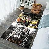 Lionpapa_mural Son Goku Saiyan Alfombra Habitación para Niños Alfombra De Fútbol Sala De Campo Dormitorio Sala De Estar Alfombras para Niños Alfombras Grandes Alfombra para El Hogar 80X150Cm