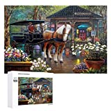 Yohoba Jigsaw Puzzle 1000 Piece _City_Market Large Puzzle Game Artwork for Adults Teens for...