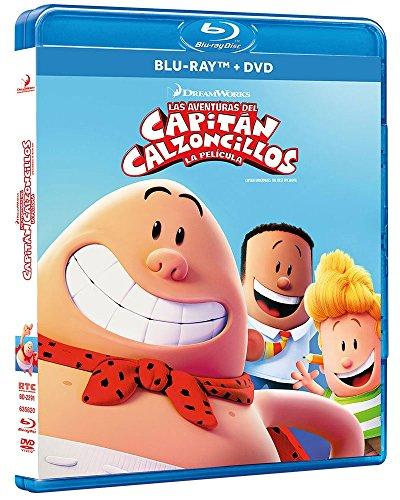 Las Aventuras del Capitán Calzoncillos: La Película [Blu-ray]