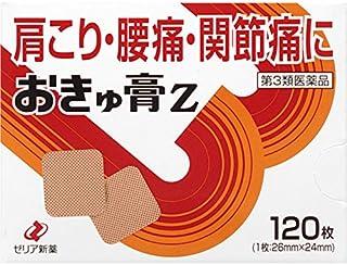 【第3類医薬品】おきゅ膏Z 120枚