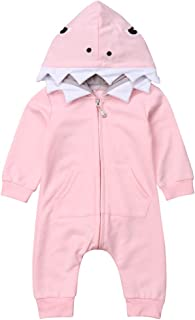 UGFGF-S3 Retro Alright Baby Girl Long Sleeve Romper Jumpsuit Coverall