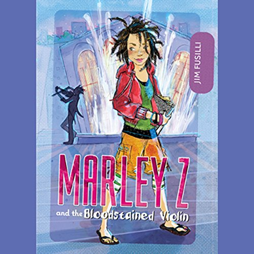 Marley Z and the Bloodstained Violin cover art