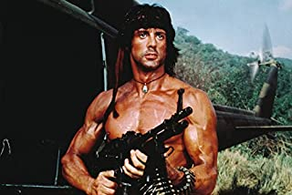Sylvester Stallone Rambo: First Blood Part Ii Clr 18x24 Poster