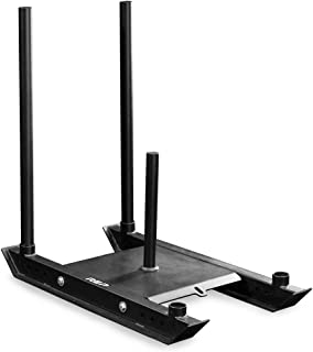 REP FITNESS Weight Sleds for Conditioning, Cross Training, and Football - Power Sled and Adjustable Pull Sled with Optional Harness