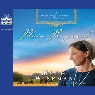 Plain Proposal audiobook cover art