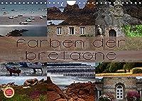 Farben der Bretagne (Wandkalender 2022 DIN A4 quer): Farbenfrohe Fotografien der Bretagne (Monatskalender, 14 Seiten )