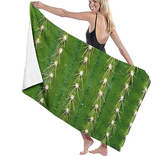 strandhanddoek Cactus Doorn Womens Badhanddoeken strand Handdoeken Prints zwembad Handdoeken Spa Douche Zwembadjas Cover Up