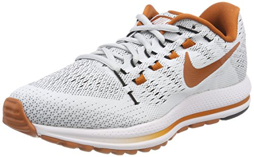 Nike Women's W Air Zoom Vomero 12 Tb Running Shoes, Grey (Pure Platinum/Desert Orange/Black), 4 UK 37.5 EU