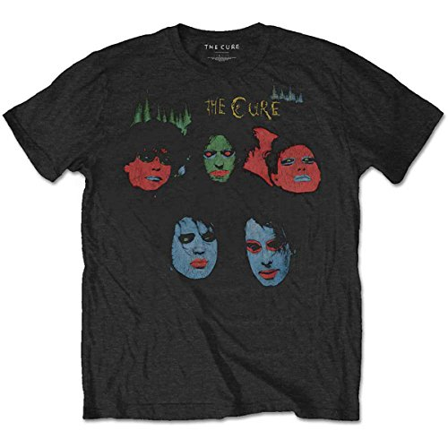 The Cure In Between Days The Head on The Door Oficial Camiseta para Hombre (Large)
