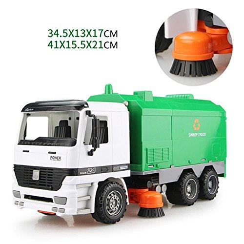 Fahrzeug-Plastenbau-Kehrmaschine-Auto-Spielzeug, Kinder-Trägheits-Simulation die fegt