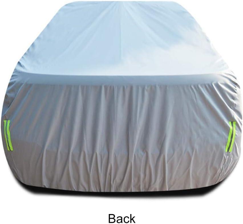 Lona Impermeable para autom/óvil a Prueba de Viento Garaje para autom/óvil Anti-UV Capota Cubierta Completa para autom/óvil Compatible con Mercedes-Benz Clase E E350d 2017-presente