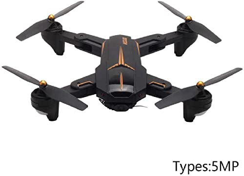 CHENYK FPV GPS RC Quadcopter ABS Mini HD Foldable 5G WiFi Altitude Hold Remote Control 2.4GHz Aircraft Toys Drone 5MP Braun