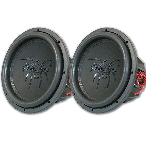 "2 x Soundstream T5.124 12"" Car Dual 4-ohm Subwoofer 2000W"