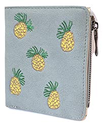 Regiis Pineapple Small Wallet for Women and Girls I Coin Pocket
