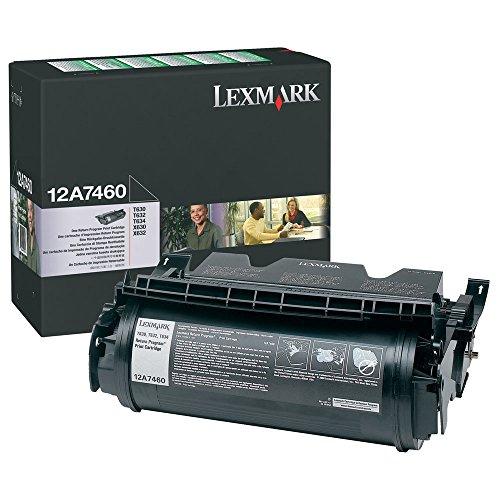 12A7460 Lexmark T632 Tonerkartusche Schwarz