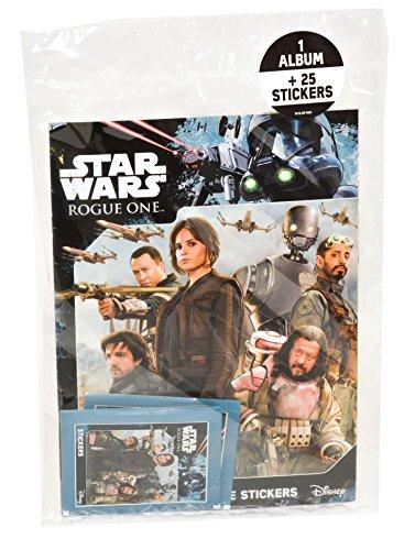 Topps–SW36–Star Wars Rogue One–Álbum + Pegatinas