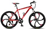 Merax MS008700JAA Finiss 26' Aluminum 21 Speed Mg Alloy Wheel Mountain Bike