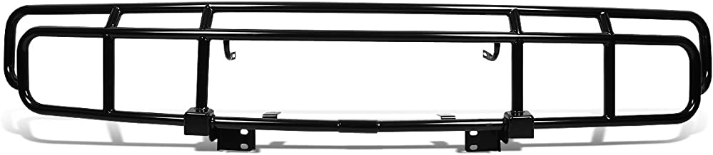 DNA Motoring Black 4X4-T125-BK Front Bumper Bull Bar Grille [for 03-09 Hummer H2]