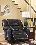 Signature Design by Ashley Dylan Durablend Onyx Rocker Recliner