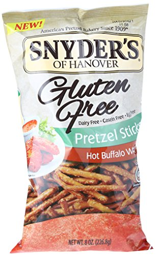 Snyder's of Hanover Gluten Free Pretzel Sticks - Hot Buffalo Wing - 8 oz