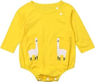 da94b2f80e20 Amazon.com  Yellows - Footies   Rompers   Clothing  Clothing