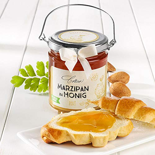 Marzipan in Honig - im Glas (250g)