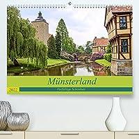 Muensterland - Vielfaeltige Schoenheit (Premium, hochwertiger DIN A2 Wandkalender 2022, Kunstdruck in Hochglanz): Muensterland - Vielfaeltige Parklandschaft (Monatskalender, 14 Seiten )