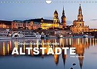 Deutschlands schoenste Altstaedte (Wandkalender 2022 DIN A4 quer): 12 wunderbar erhaltene deutsche Altstaedte. (Monatskalender, 14 Seiten )