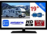 TV TNT HD LED 18,5' 48CM TNTHD USB HDMI - pour Camion Fourgon Camping Car 24 12 Volts...