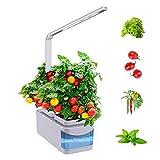 ZDYLM-Y Smart Garden, hidroponía Creciente del Sistema con sincronización Inteligente, Plantar Modo de Ahorro de energía, la función de luz de Lectura
