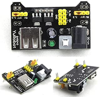 IIK DIY Retails 3.3V and 5V Power Supply Module for MB102 Bread Board Arduino Raspberry Pi