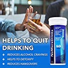 NoMoreDrinks Alcohol Cravings Reducer - Stop Drinking Alcohol Supplements & Liver Detox with Milk Thistle, Dandelion Root & Kudzu Root for Liver Support - 7 Packs #3