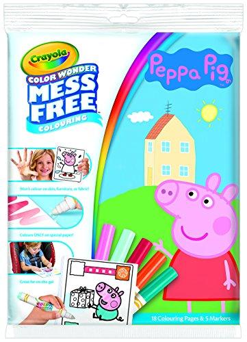 CRAYOLA Color Wonder – Cuaderno para Colorear de Peppa Pig