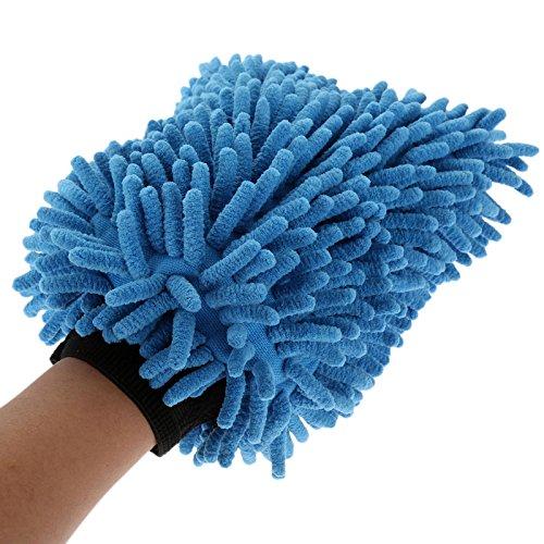 Autowashandschoen Ultrafine Fiber Chenille zachte handdoek Microvezel Auto's Schoonmaken Zorg Detailing voor Automotieven Huishouden