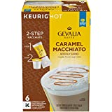 Gevalia Caramel Macchiato Espresso K-Cup Coffee Pods and Froth Packets (6 Pods and Froth Packets)