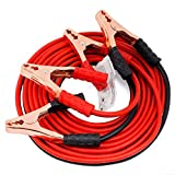 Kiesh Achyut Black & Red 1000 AMP Copper Wire Auto Battery Line Emergency Cable Line Cable Clip Car...