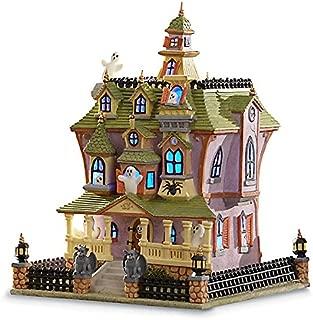 Spooky Manor Lit House Figurine