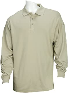 Tactical Men's Performance Long-Sleeve Work Polo Shirt, Style 72049