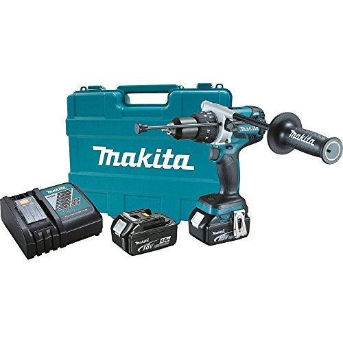 Makita XPH07M 18V LXT Lithium-Ion Brushless Cordless 1/2-Inch Hammer Driver-Drill Kit (Discontinued by Manufacturer)
