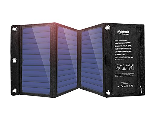 Nekteck 21W Portable Solar Panel Charger