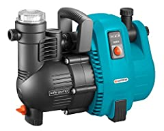Gardena Comfort pompa ogrodowa 5000/5: Pompa nawadniająca o natężeniu przepływu 5000 l/h i długiej żywotności, pojemność 1300 W, wysokiej jakości, cicha, automatyczna wyłączanie bezpieczeństwa (1734-20)