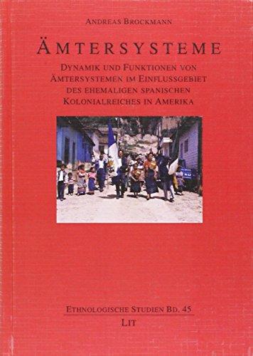 Brockmann, A: Ämtersysteme