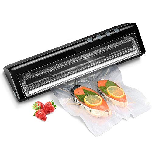 Sale!! LIUHUI Vacuum Sealer Machine, Portable Automatic Vacuum Air Sealing System with Dry & Moist M...
