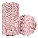 Mikos* - Manta de punto para bebé, ideal como manta para primer uso, 100 x 120 cm (1004) rosa puderrosa Talla:Children: XS
